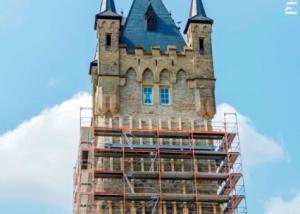 Blauer Turm Bad Wimpfen – Notsicherung