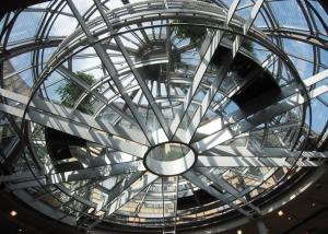 Stuttgart Globetrotter verglaste Plattform