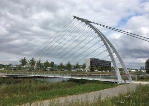 Brücke über den Langen See – Flugfeld Böblingen