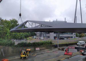 Neubau Geh- und Radwegbrücke in Sindelfingen
